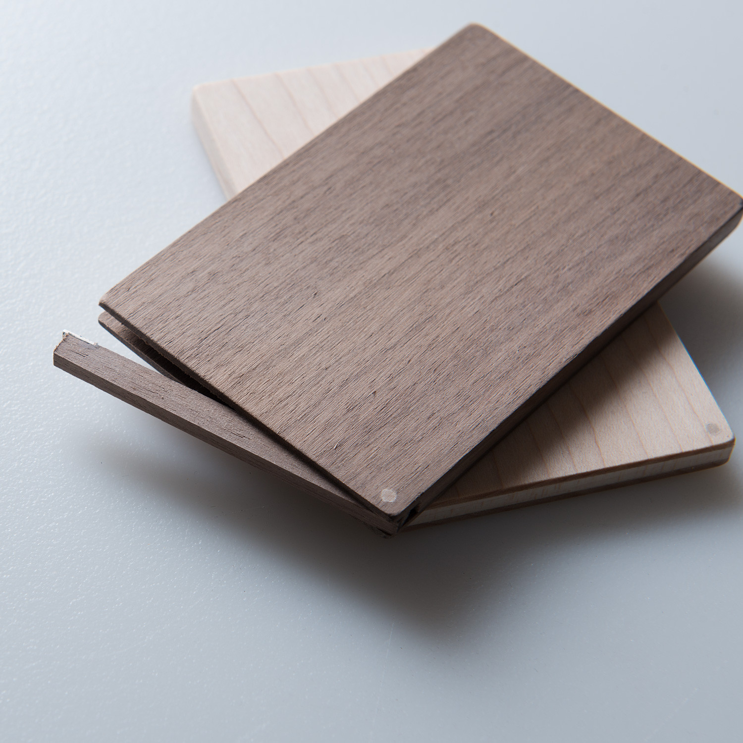 Business Card Holder Flip (walnut)