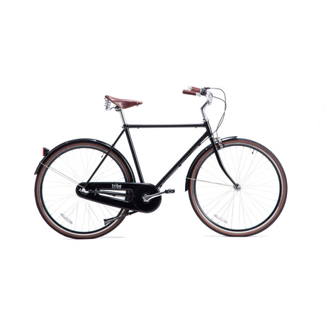 Opafiets // Leather Saddle and Grips (48.5cm Frame)