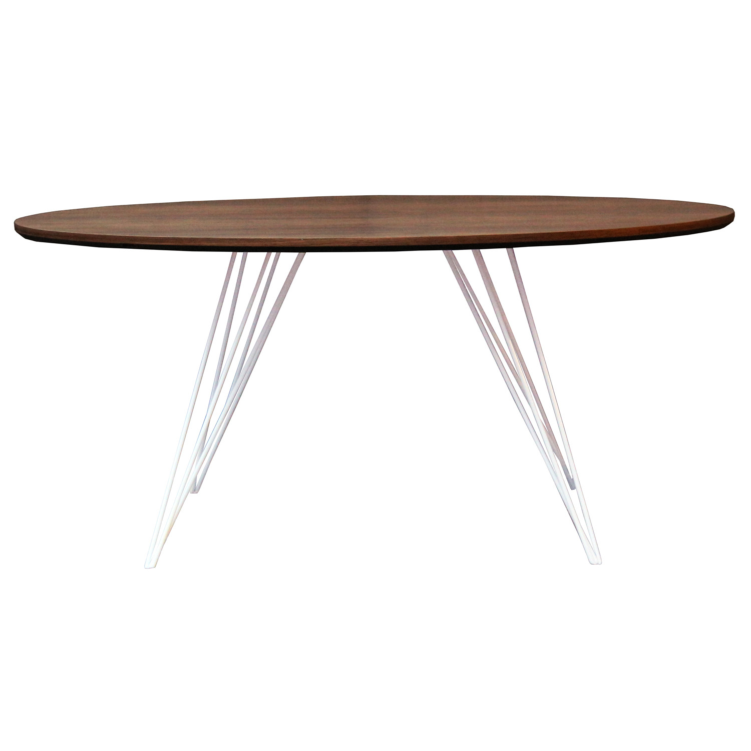 Williams Coffee Table // X-Small Oval (Green)
