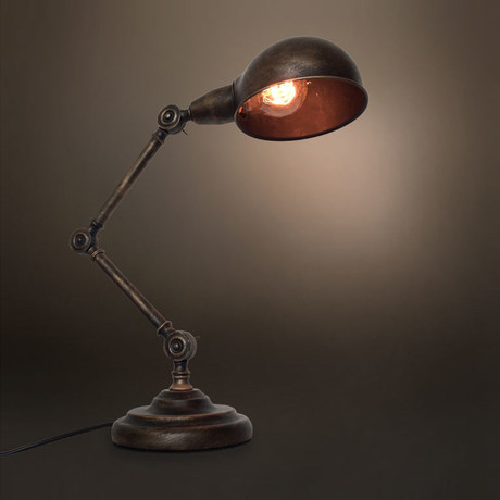 Vintage Swing Arm Table Lamp
