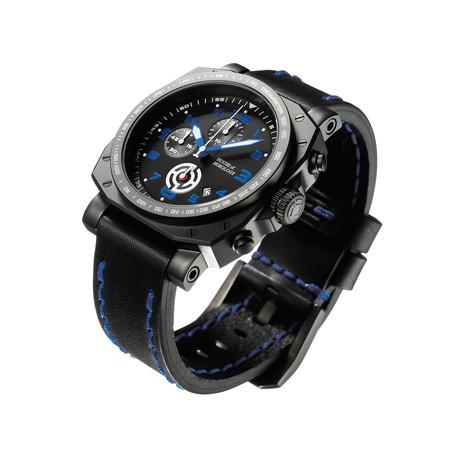 The Bedlam Chronograph Quartz // Dark Blue // HOHBDBE