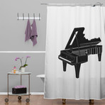 Music Is The Key 1 // Shower Curtain