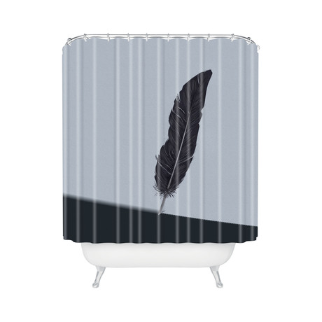 Quill // Shower Curtain