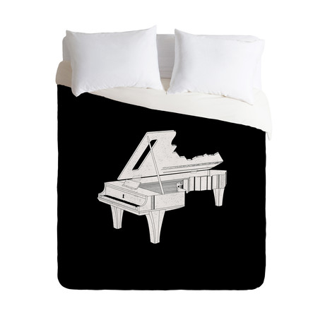 Music Is The Key 2 // Duvet Cover (Twin)