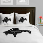 Music Is The Key 1 // Duvet Cover (Twin)