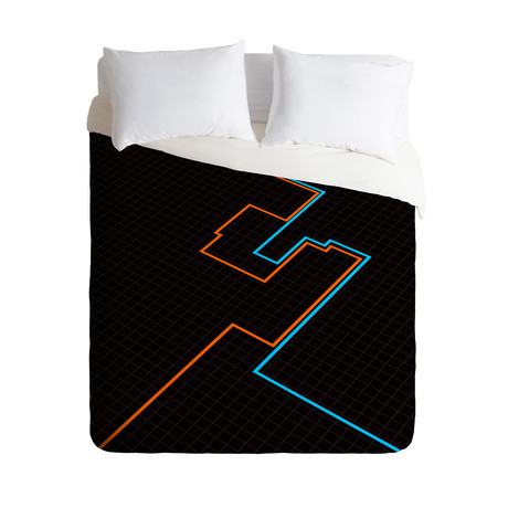 End of Line // Duvet Cover (Twin)