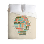 Socially Networked // Duvet Cover (Twin)