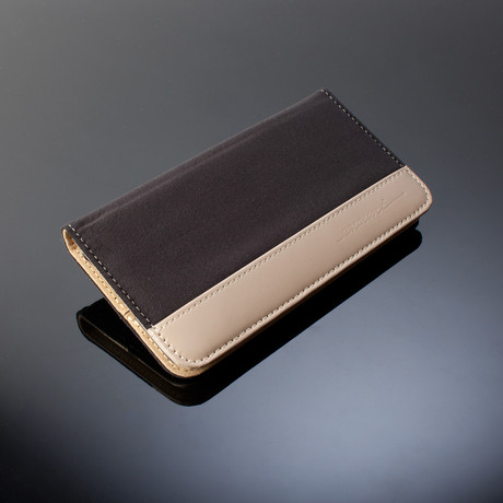 Evouni // Fashion Wallet for iPhones // Black (iPhone 6)