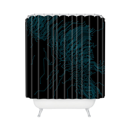 Circuit // Shower Curtain