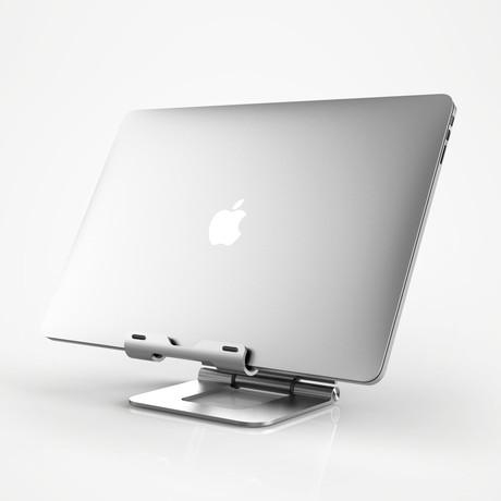 The Ridge Stand Pro // MacBook Pro (Black + Black)