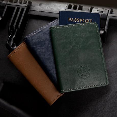 Nomad Passport Holder (Navy)