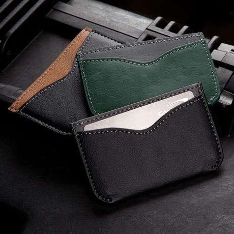 Two Tone Wallet (Black & Beige)
