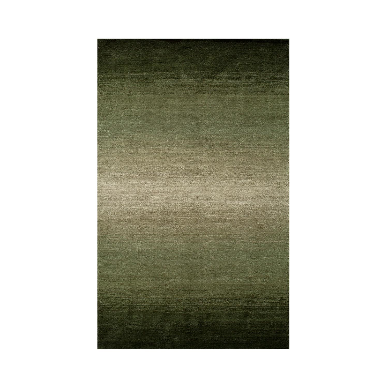 "Metropolitan Ombre Rug // Forest Green (3'-3""L X 5'-3""W"