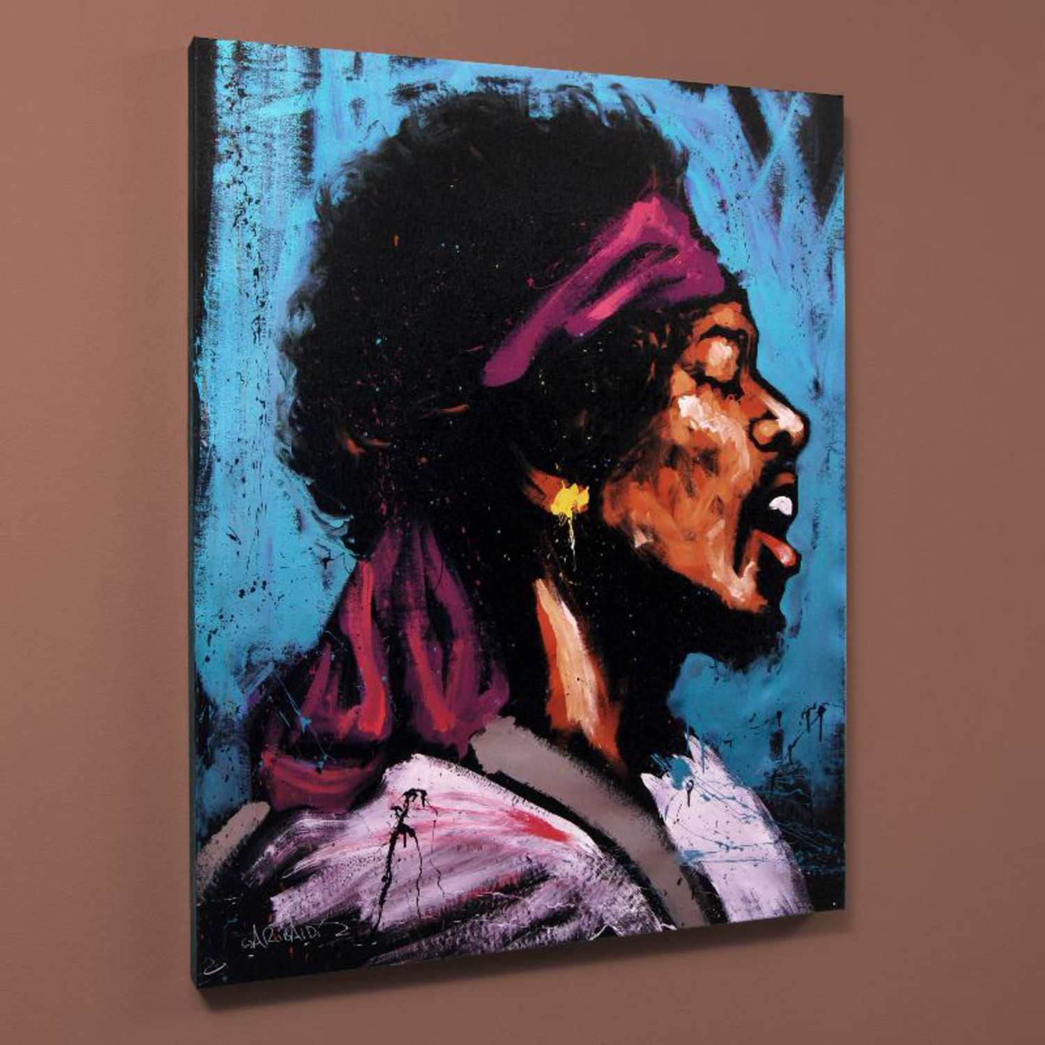 jimi hendrix bandana 28quotw x 35quoth x 1quotd david