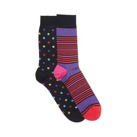Washington Sock Set of 2 // Black