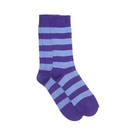 Blenheim Sock Set of 2 // Violet