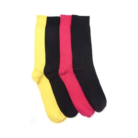 Odd or Not Sock Pack // Yellow