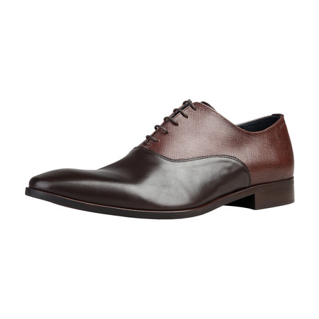 Todillon Two-Texture Oxford // Brown