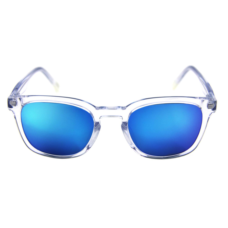 hudson blue mirror lens made eyewear
