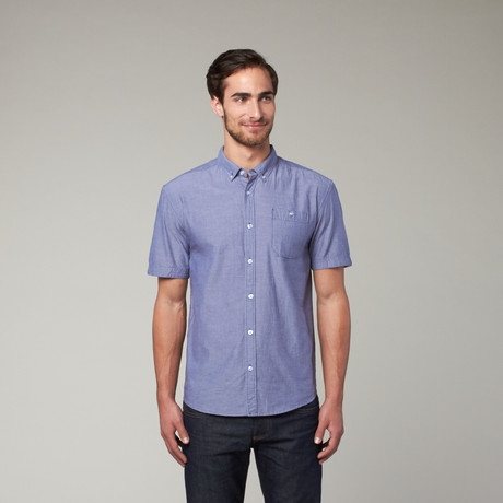 Artistry in Motion // Classic Solid Button Up // Indigo