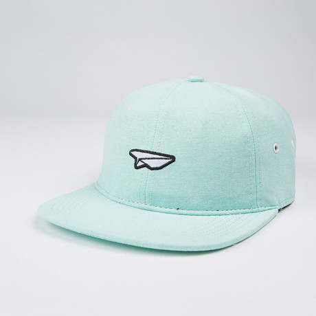 Classic Oxford Polo Hat // Mint