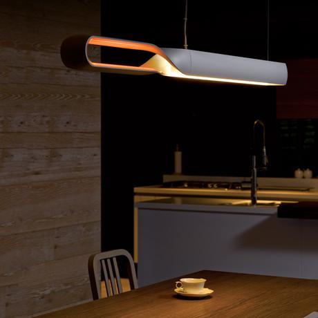 Infinito Suspension Lamp (Silver)