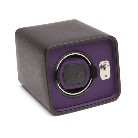 Windsor // Single Winder (Black + Purple)