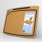 Orange Chef // Cutting Board with iPad Stand