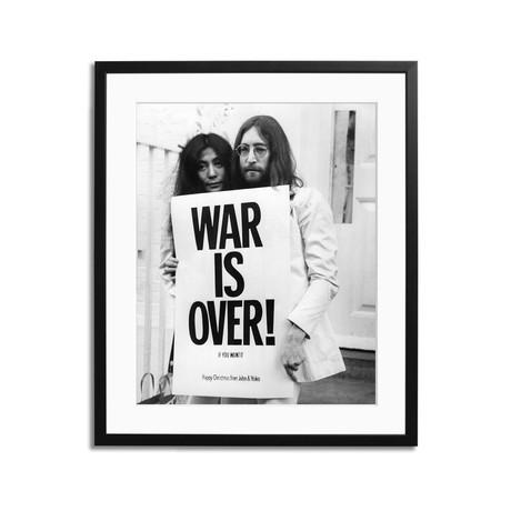 "John and Yoko // War Is Over (12"" x 16"")"