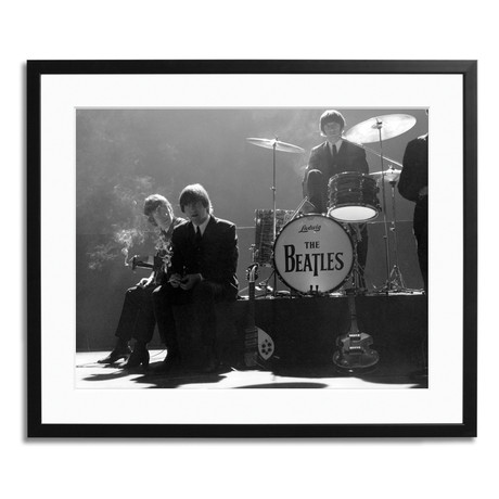 """The Beatles on the Set of Shindig (12"""" x 16"""")"""