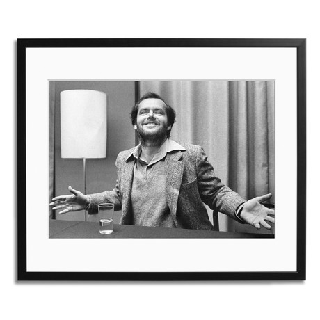 "Jack Nicholson Expressing Himself (12"" x 16"")"
