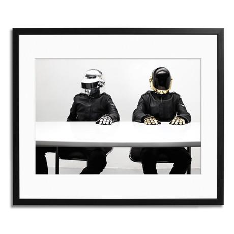 "Daft Punk // Paris 2007 (12"" x 16"")"