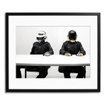 "Daft Punk // Paris 2007 (12"" x 16"")"