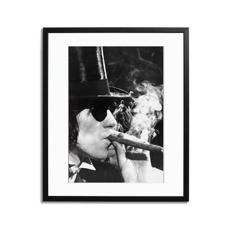 """Keith Richards Smoking (12"""" x 16"""")"""