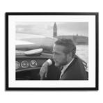 """Paul Newman // Venice 1963 (12"""" x 16"""")"""