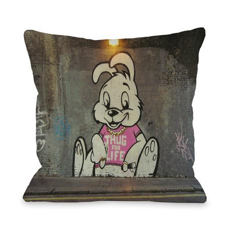 Thug for Life Bunny // Pillow