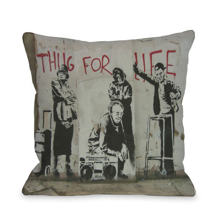 Thug For Life // Pillow