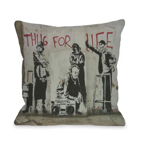 Thug For Life // Pillow
