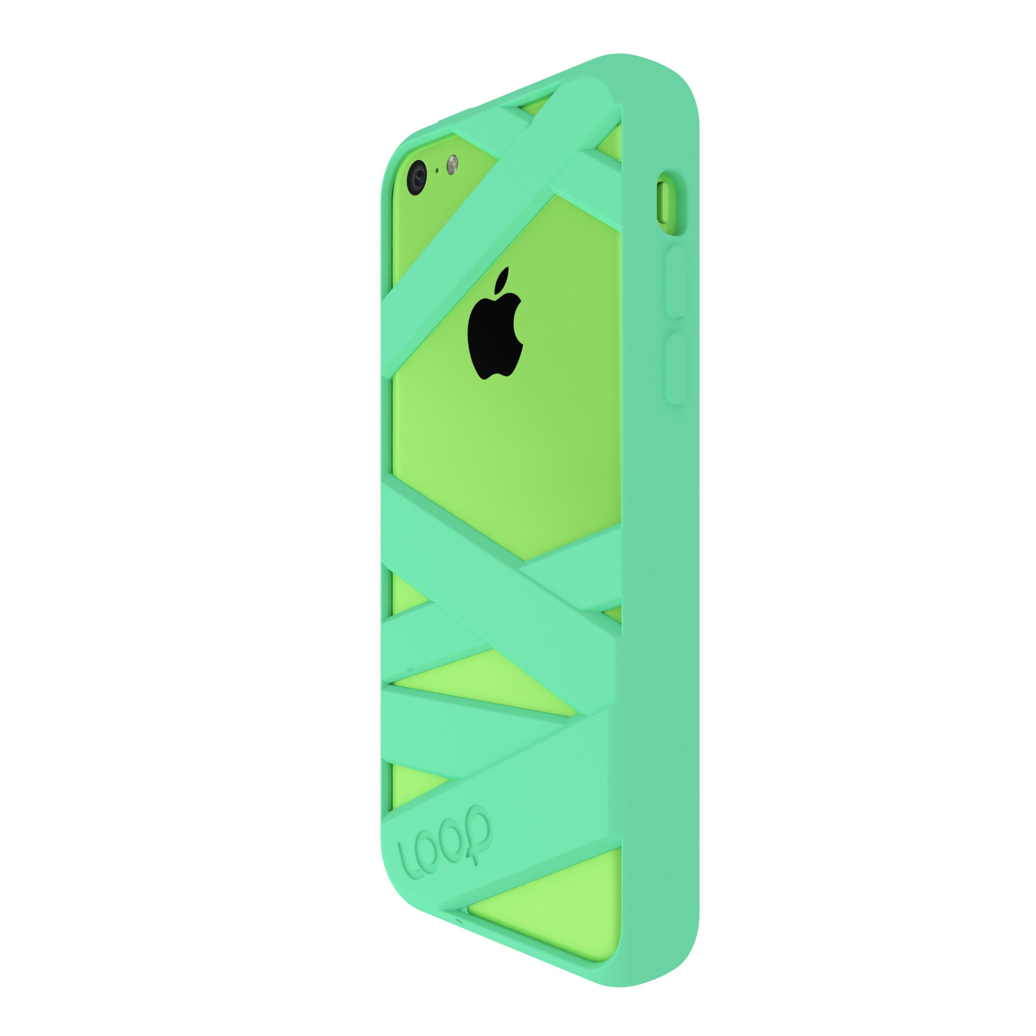 mummy case iphone 5c black loop attachment touch