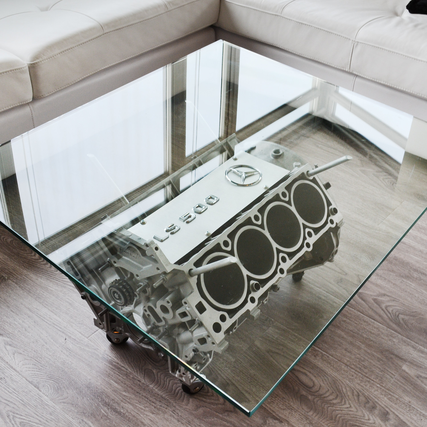 V8 Mercedes CLS 500 Coffee Table