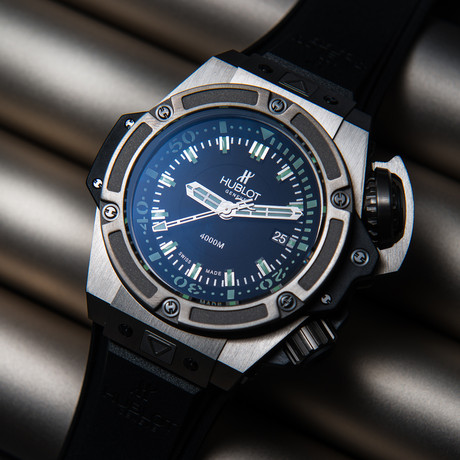 Hublot King Power Oceanographic 4000 Automatic // 731.NX.1190.RX