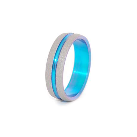 Gezandstraald handtekening Ring // Turquoise 0026 quot; Magische 0026 quot;