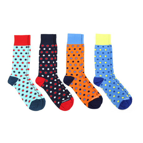 Assorted Dots 1 // 4 Pack