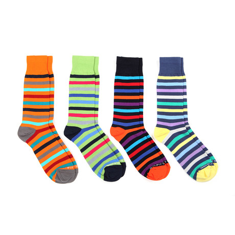 Assorted Stripes 3 // 4 Pack