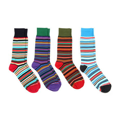 Assorted Stripes 2 // 4 Pack