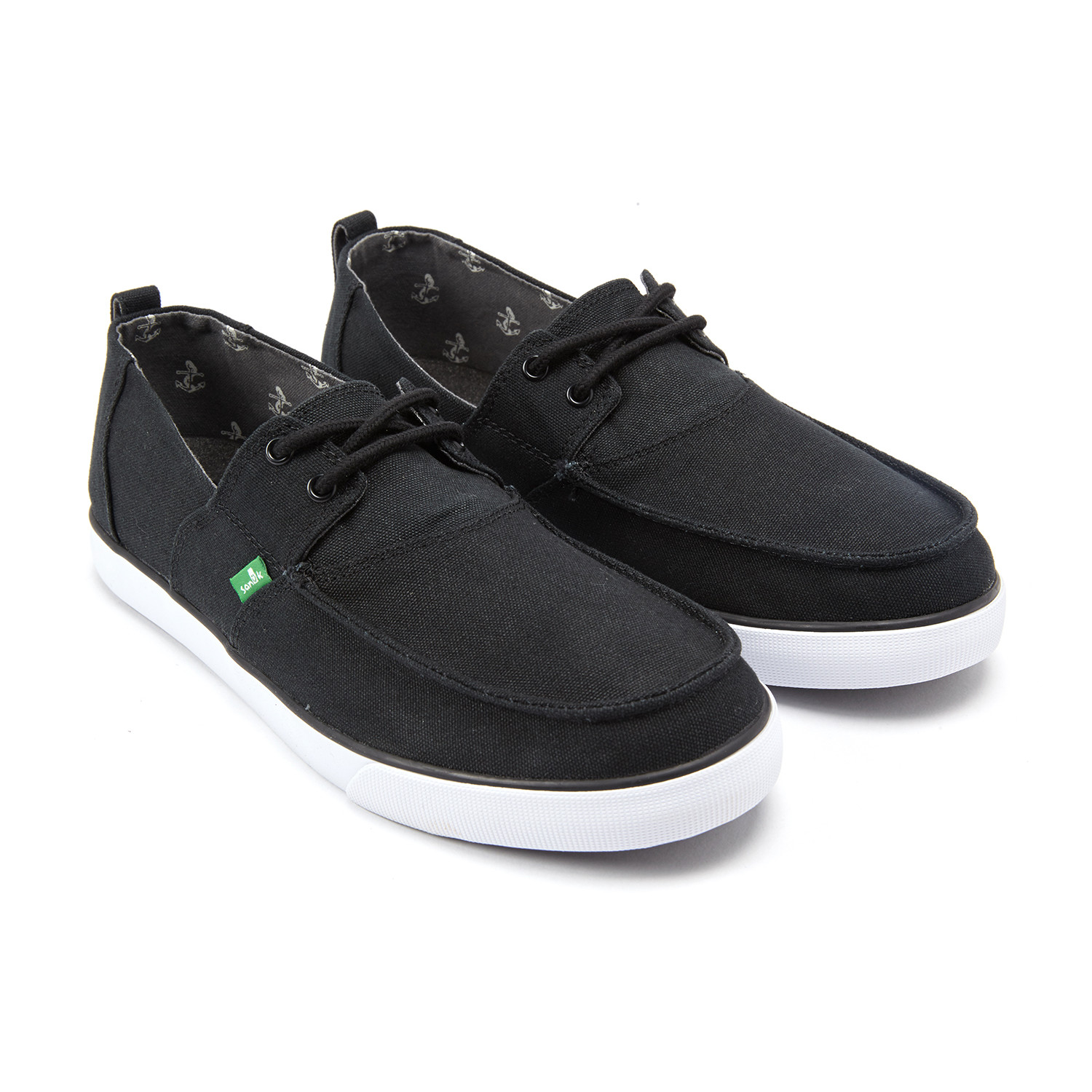 Offshore Boat Shoes // Black (US: 7) - Sanuk Shoes - Touch of Modern