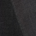 "Wool Two-Button Slim Fit Suit // Charcoal (US: 38R / 32"" Waist)"