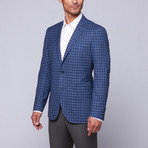 Trend Maxman // Wool Two-Button Slim Fit Sportcoat // Blue Check (US: 38R)