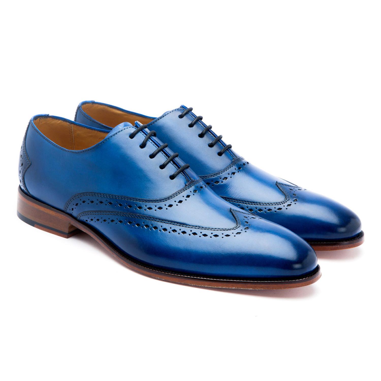 Wingtip Oxford // Blue (US: 7) - Last