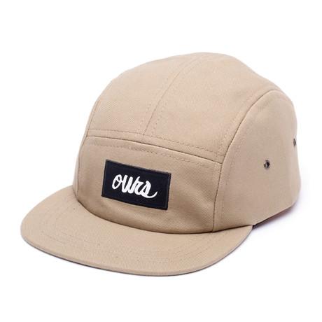 Canvas Camper Hat // Khaki